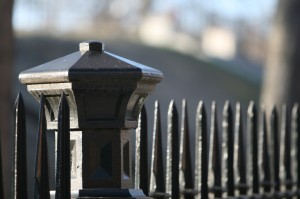 iron fence caps