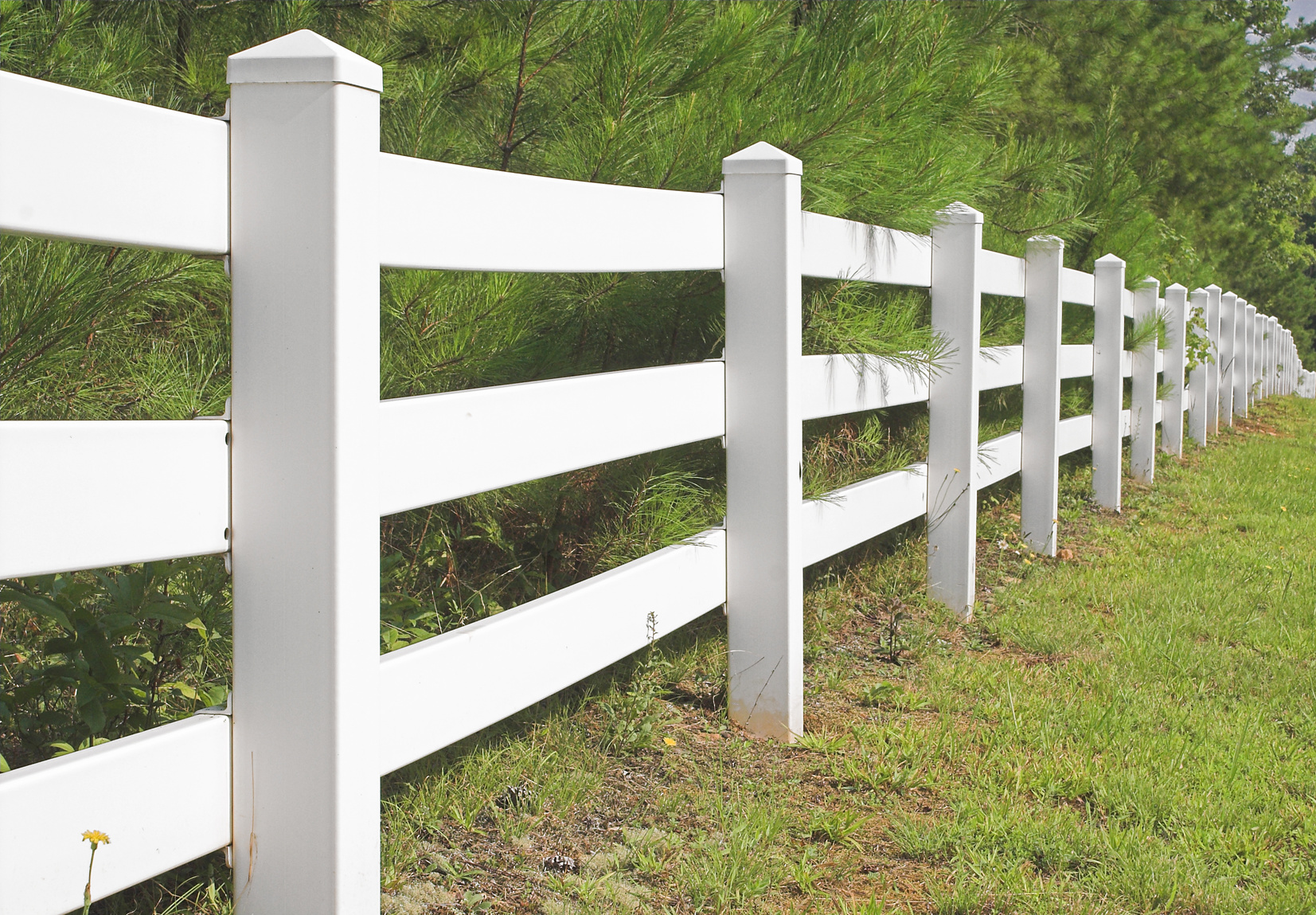 Vinyl Fence Rail Gate Amp Hardware The Fence Specialist