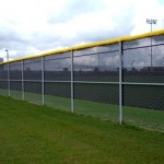 chain link rec area