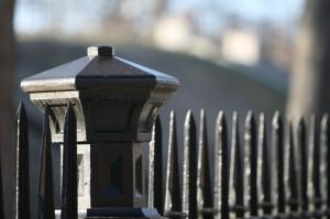 iron fence caps