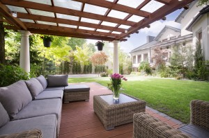 Pergola summer retreat